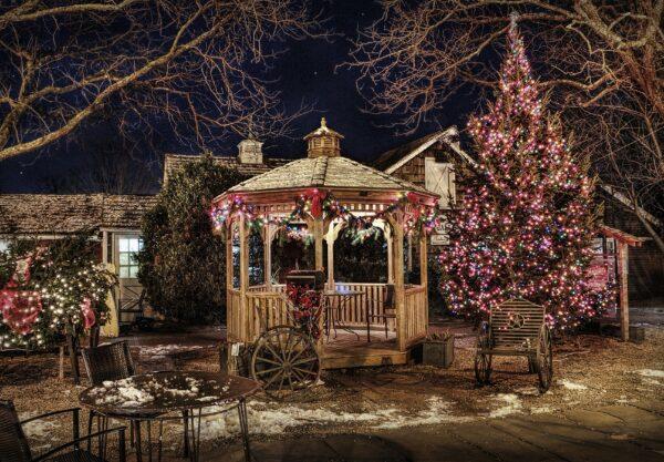 romantisches Ambiente im Garten