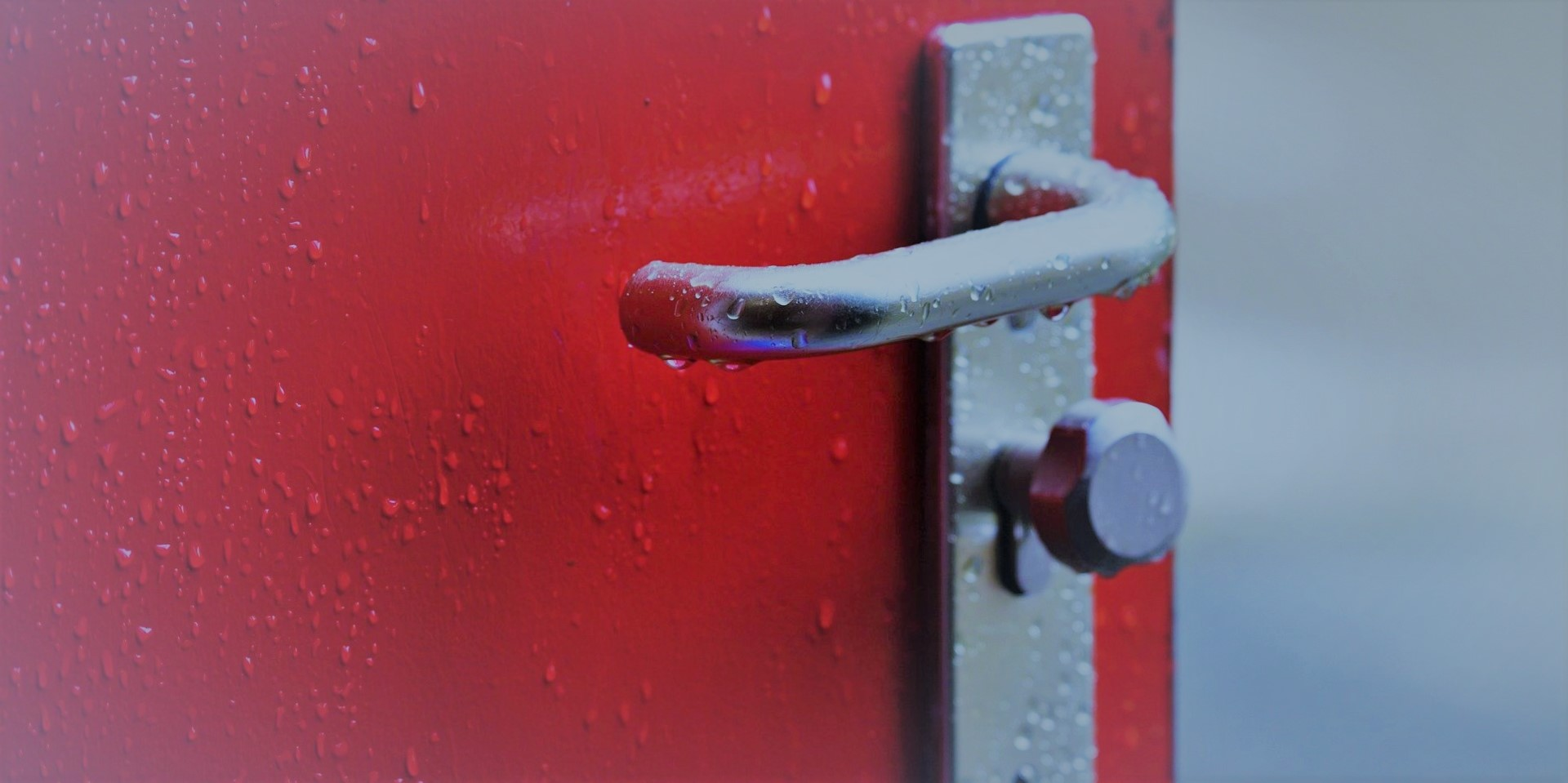 Türschloss mit Magnetkarte