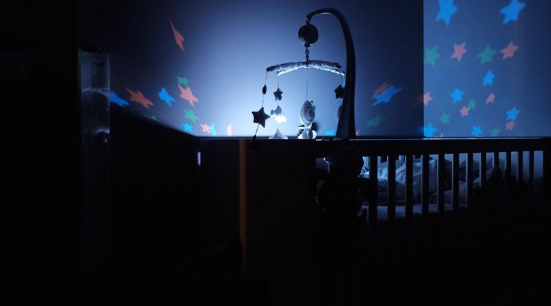 Nachtlicht mit Musik